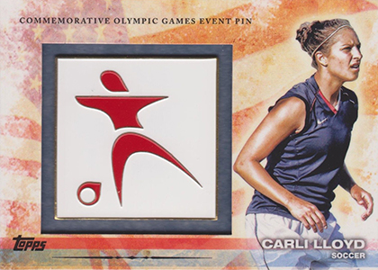 Top 10 Carli Lloyd Soccer Cards 10