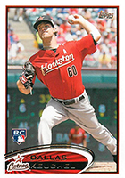 Dallas Keuchel Cards and Rookie Card Guide
