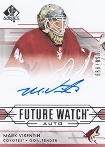 2014-15 SP Authentic Hockey Future Watch Autographs Gallery, Guide 33
