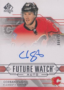 2014-15 SP Authentic Hockey Future Watch Autographs Gallery, Guide 4