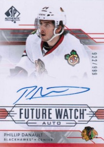 2014-15 SP Authentic Hockey Future Watch Autographs Gallery, Guide 5