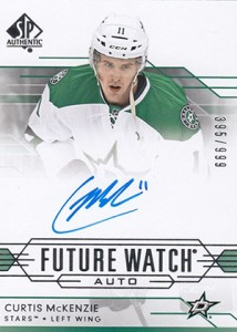 2014-15 SP Authentic Hockey Future Watch Autographs Gallery, Guide 36