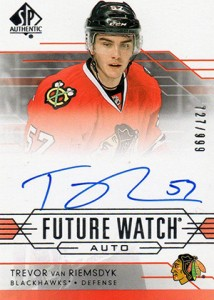 2014-15 SP Authentic Hockey Future Watch Autographs Gallery, Guide 40
