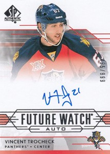 2014-15 SP Authentic Hockey Future Watch Autographs Gallery, Guide 12
