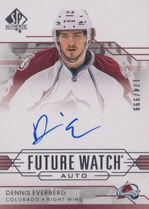 2014-15 SP Authentic Hockey Future Watch Autographs Gallery, Guide 45
