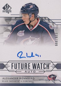 2014-15 SP Authentic Hockey Future Watch Autographs Gallery, Guide 16