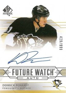 2014-15 SP Authentic Hockey Future Watch Autographs Gallery, Guide 46