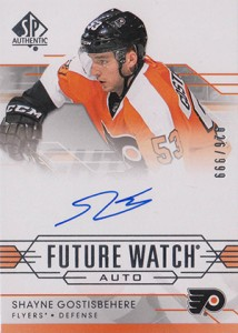 2014-15 SP Authentic Hockey Future Watch Autographs Gallery, Guide 20