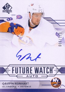 2014-15 SP Authentic Hockey Future Watch Autographs Gallery, Guide 22