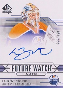 2014-15 SP Authentic Hockey Future Watch Autographs Gallery, Guide 23