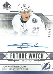2014-15 SP Authentic Hockey Future Watch Autographs Gallery, Guide 27