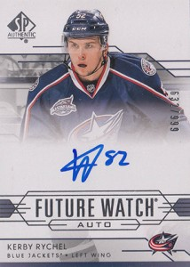 2014-15 SP Authentic Hockey Future Watch Autographs Gallery, Guide 30
