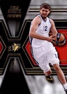 2014-15 SPx Nikola Mirotic #69 Base