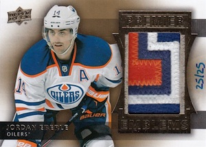 2014-15 Upper Deck Premier Hockey Emblems