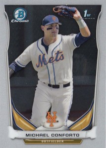 Michael Conforto Prospect Card Highlights 6