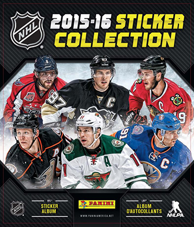 2015-16 Panini NHL Stickers Collection 1