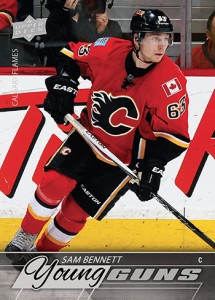 2015-16 Upper Deck Series 1 Sam Bennett Young Guns