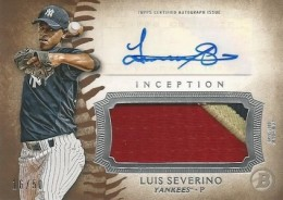 2015 Bowman Inception Baseball Cards 25