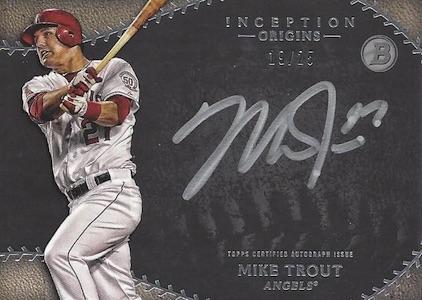2015 Bowman Inception Baseball Cards 29