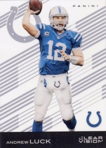 2015 Clear Vision Football Base Andrew Luck