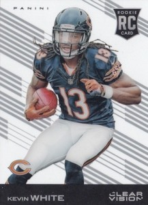 2015 Clear Vision Football Base RC Kevin White