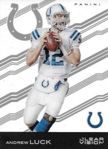 2015 Clear Vision Football Variation Andrew Luck