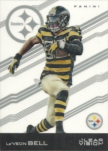 2015 Clear Vision Football Variation LeVeon Bell