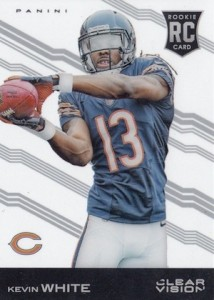 2015 Clear Vision Football Variation RC Kevin White