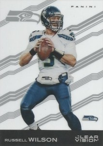 2015 Clear Vision Football Variation Russell Wilson