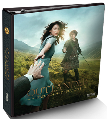 2015 Cryptozoic Outlander Season 1 Binder