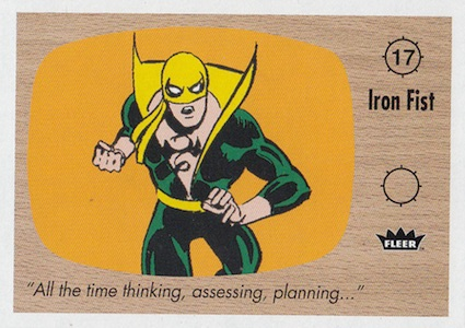 2015 Fleer Retro Marvel Trading Cards 22