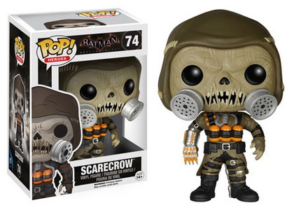 2015 Funko Pop Batman Arkham Knight Vinyl Figures 74 Scarecrow