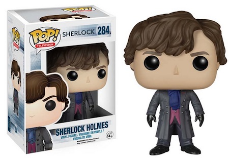 2015 Funko Pop Sherlock Vinyl Figures 284 Sherlock Holmes