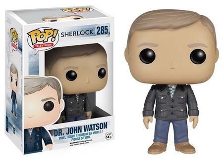 2015 Funko Pop Sherlock Vinyl Figures 285 Dr. John Watson