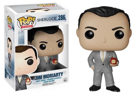2015 Funko Pop Sherlock Vinyl Figures 286 Jim Moriarty