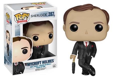 2015 Funko Pop Sherlock Vinyl Figures 287 Mycroft Holmes