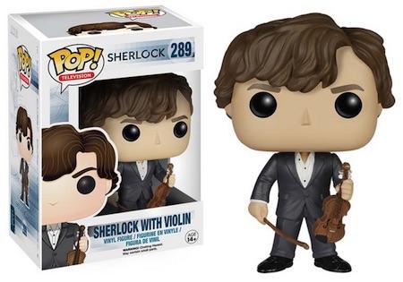 2015 Funko Pop Sherlock Vinyl Figures 289 Sherlock Holmes Violin