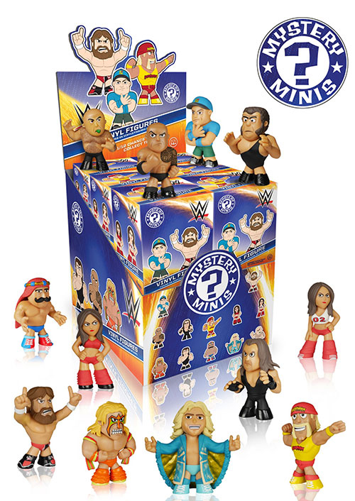 2015 Funko WWE Mystery Minis Case
