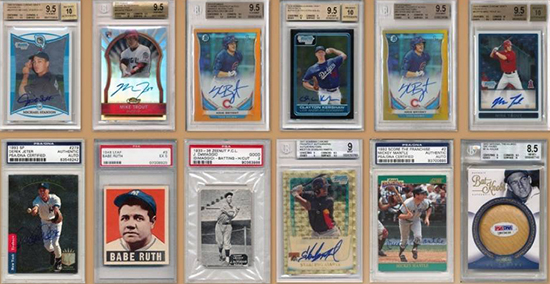 2015 Leaf Best of Baseball Cards 1
