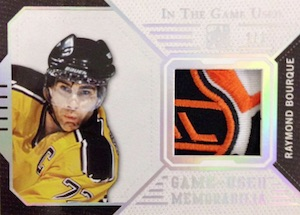 2015 Leaf In The Game Used Hockey Patch Logo