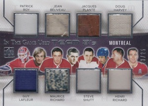 2015 Leaf In The Game Used Hockey Team 8s