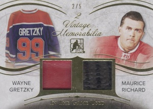 2015 Leaf In The Game Used Hockey Vintage 2