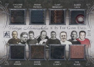 2015 Leaf In The Game Used Hockey Vintage 8