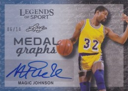 2015 Leaf Legends of Sport Trading Cards 23