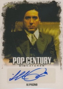 2015 Leaf Pop Century Base Autograph Pacino
