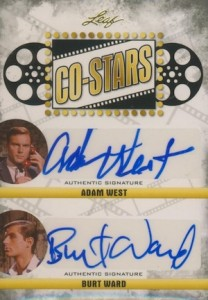 2015 Leaf Pop Century Co-Stars Autographs Adam West Ward