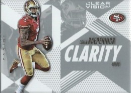 2015 Panini Clear Vision Football Clarity