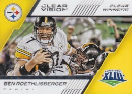 2015 Panini Clear Vision Football Clear Winners