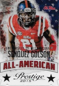 2015 Panini Prestige Football All-American