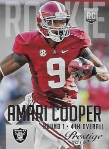 2015 Panini Prestige Football Base 202 Amari Cooper